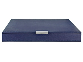 Stackables Large Tray with Lid Navy by Wolf