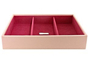 Stackables Medium Deep Jewelry Blush Tray By Wolf