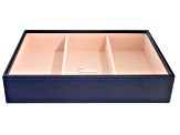 Stackables Medium Deep Jewelry Tray Navy By Wolf