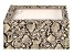 WOLF Medium Jewelry Box with Window and LusterLoc (TM) in Tan Snake