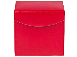 WOLF Travel Snap Jewelry Case with LusterLoc (TM) in Red