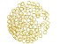 Jump Rings, 8 mm (.315 in), Gold Tone, Appx 144 Pieces