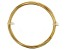 20 Gauge Round German Style Wire in Gold Tone Appx 6 Meters