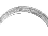 Large Memory Wire Bracelet in Silver Tone 0.5 oz Appx 30 Coils