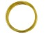 Large Memory Wire Bracelet in Gold Tone 0.5 oz Appx 30 Coils