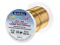 ColourCraft Round Wire in Light Brass Gold Tone 22G Appx 0.6mm Diameter Appx 20 Yards Total