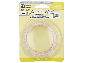 Artistic Flat Wire in Rose Gold Tone Appx 0.75x5mm in Diameter Appx 3' Total