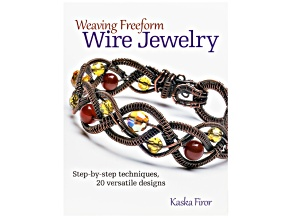 Weaving Freeform Wire Jewelry Step-By-Step Techniques 20 Versatile Designs By Kaska Firor 111pgs