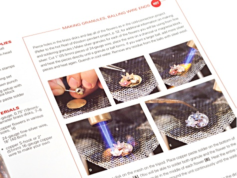 Jewelry Making Book:  Hot & Cold Jewelry Connections - How To Make Jewelry With & Without A Torch
