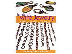 Handcraft Wire Jewelry Chains, Clasps, Pendants Book By Kimberly Sciaraffa Berlin 95pgs