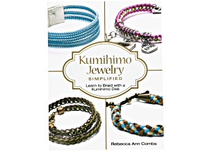 Kumihimo Jewelry Simplified Book By Rebecca Ann Combs Learn To Braid With A Kumihimo Disk