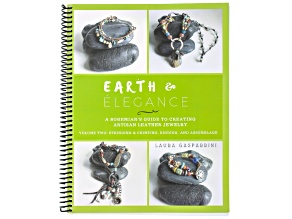 Earth & Elegance Volume 2: Leather And Stringing By Laura Gasparrini 11 Projects 146 Pages