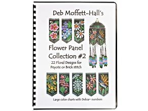 Deb Moffett-Hall's Flower Panel Book 2