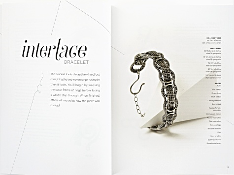 Woven in Wire: Dimensional Wire Weaving in Fine Art Jewelry by Sarah Thompson 159 pages