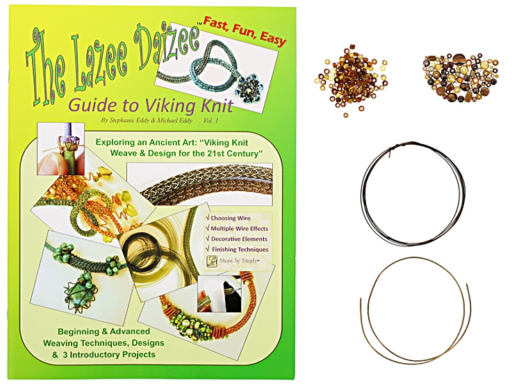 Lazee Daizee Guide To Viking Knit Book With Pendant Project Kit And