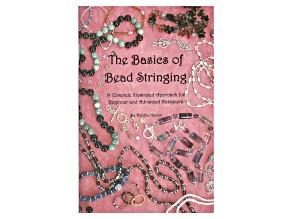 Basics Of Bead Stringing By Debbie Kanan Paper Back Book 82pgs