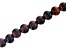 "Red Tiger Eye Appx 8mm Round Large Hole Bead Strand Appx 8"" Length"