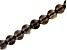 Smoky Quartz Appx 8mm Round Large Hole Bead Strand Appx 8