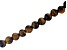 "Tiger Eye Appx 8mm Round Large Hole Bead Strand Appx 8"" Length"