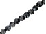 "Larvikite Appx 8mm Round Large Hole Bead Strand Appx 7-8"" Length"