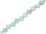"Aquamarine Appx 8mm Round Large Hole Bead Strand Appx 7-8"" Length"