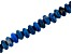 "Denim Lapis Appx 8mm Rondelle Large Hole Bead Strand Appx 8"" Length"