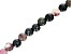 """Tourmaline Appx 8mm Faceted Round Large Hole Bead Strand Appx 7-8"""" Length"""