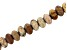 Matte Sandstone Appx 8mm Rondelle Large Hole Bead Strand Appx 8