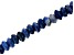 Sodalite Appx 8mm Faceted Rondelle Large Hole Bead Strand Appx 8