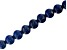 Lapis Appx 10mm Round Large Hole Bead Strand Appx 8