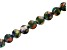 Mardi Gras Appx 10mm Round Large Hole Bead Strand Appx 8