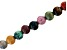Multi-Stone Appx 10mm Round Large Hole Bead Strand Appx 8