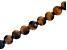 Tiger Eye Appx 10mm Round Large Hole Bead Strand Appx 8