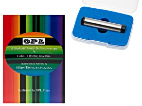 Opl Students Spectroscope Kit With Book