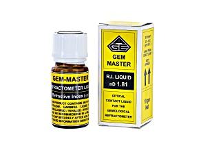 Gem-Master 1.81 Refractive index Liquid (Non-Refundable)
