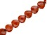 Red Jasper Faceted Heart appx 20mm Bead Strand appx 15-16