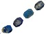 Lapis Lazuli Faceted Octagon Nuggets appx 25x32-34x43mm Bead Strand appx 15-16