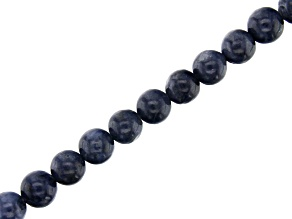 Sapphire Round appx 6mm Bead Strand appx 15-16