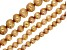 Champagne Color Cultured Freshwater Pearl Potato Shape Bead Strand Set of 4