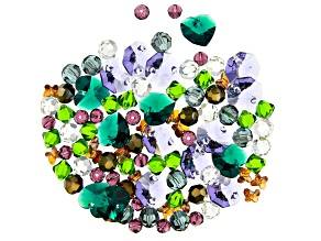Swarovski® Create Your Style Peacock Crystal Mix in 8 Assorted Shapes appx 97 Pieces Total