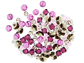 Swarovski® Create Your Style Blush Crystal Mix in 6 Assorted Shapes appx 106 Pieces Total