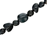 Hawk's Eye Medium Nugget appx 7x6-13x12mm Shape Bead Strand Set of 3 Appx 15-16
