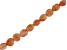 Sunstone Appx 6mm Checkerboard Cut Faceted Coin Shape Bead Strand appx 15-16
