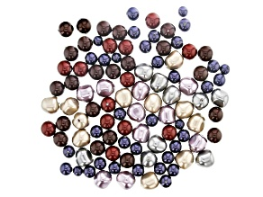 Swarovski ® Gilded Crystal Pearl Mix in Assorted Sizes appx 120 Pieces Total