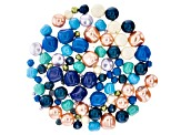 Swarovski® Caribbean Cruise Crystal Pearl Mix in Assorted Shapes appx 107 Pieces Total