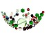 Swarovski ® Caroling Crystal Mix in Assorted Shapes and Colors Appx 86 Pieces Total