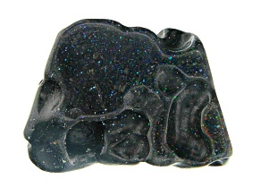 Honduran Black Opal Hand Sculpted Focal appx. 30-35 ctw Shapes and Sizes Vary