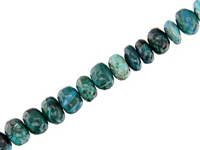 "Chrysocolla Bead Strand appx 4-6mm appx 18"" in length"