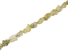 Yellow Diamond Appx 2-3mm Chip Strand Appx 15-16