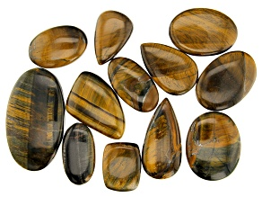 Tigers Eye 1/4lb Loose Bead Parcel